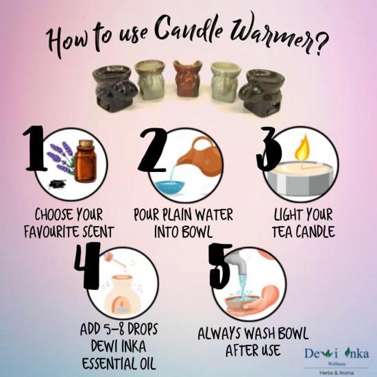 Aroma Warmer - Ancient Brown