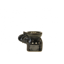 Aroma Warmer - Black Marble