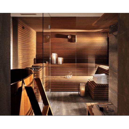 Finland Green Cedar Wood Log Sauna
