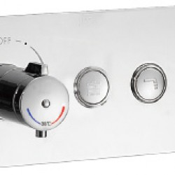 HARA SS Concealed Coaxial Thermostatic shower mixer Handler