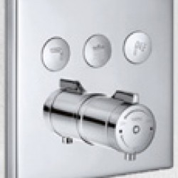 HARA SS Concealed X3 Thermostatic shower mixer Handle