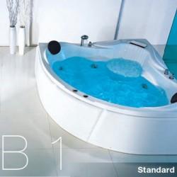 Corner Bath Whirlpool WH-CB 1