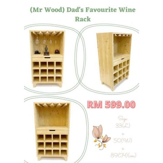 Dad's favourite Wine Rack