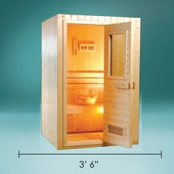 Movable Sauna Basic MSB-36